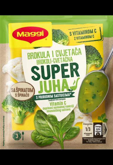 Maggi super krem juha s brokulom i cvjetacom