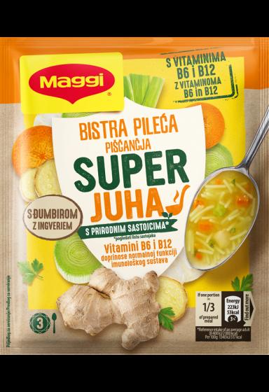 Maggi super juha s piletinom i tjesteninom
