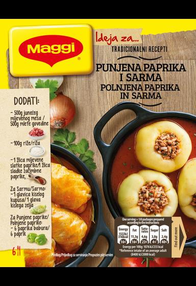 maggi ideja za punjene paprike i sarmu